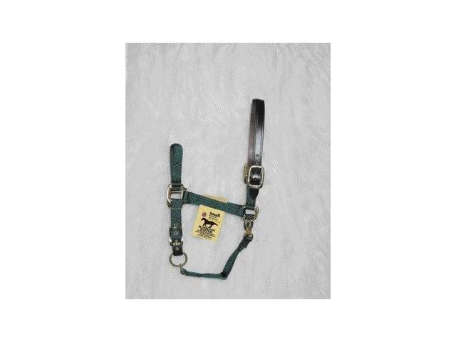 Hamilton Halter 1DALSS SMDG Adjustable Halter With Leather Headpole