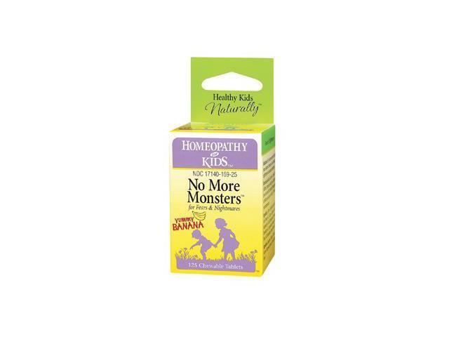 No More Monsters - Herbs For Kids - 125 - Chewable