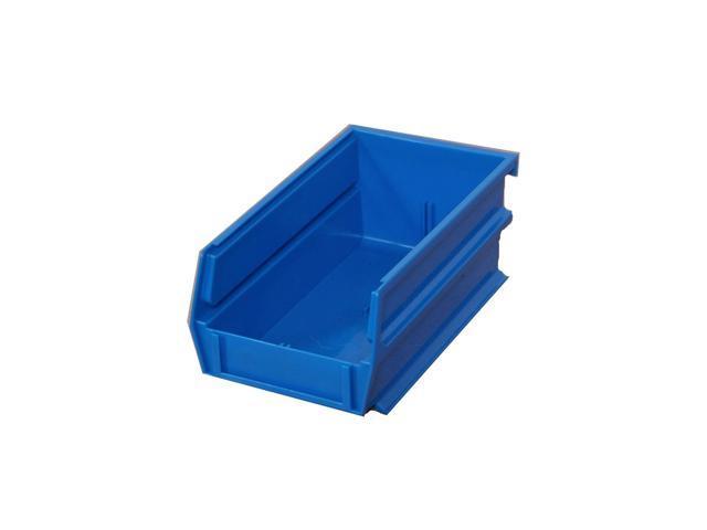 Triton Products 3-210B-10 Blue Stacking, Hanging, Interlocking Polypropylene Bin