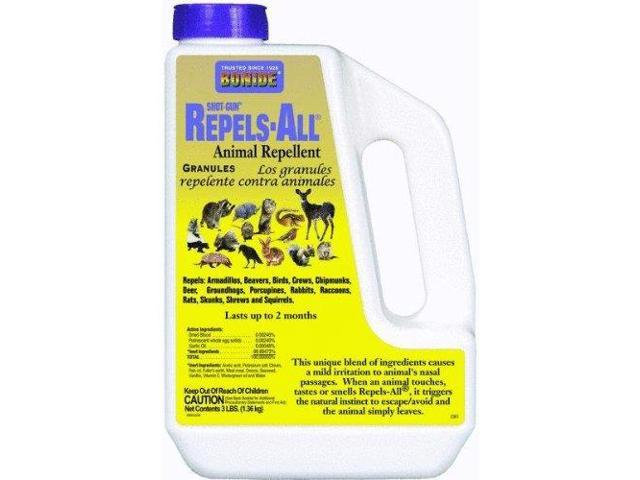 Bonide 2361 Repels-All Animal Repellent Granules - 3 Lbs.