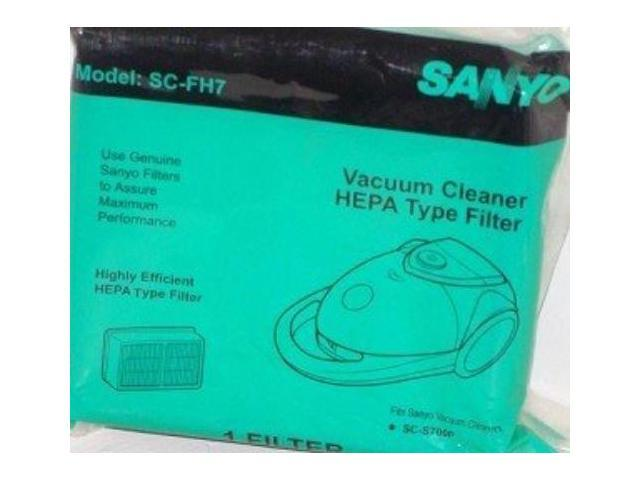 SANYO SCFH7 HEPA Filter Fits Sanyo Vacuum Cleaner Model