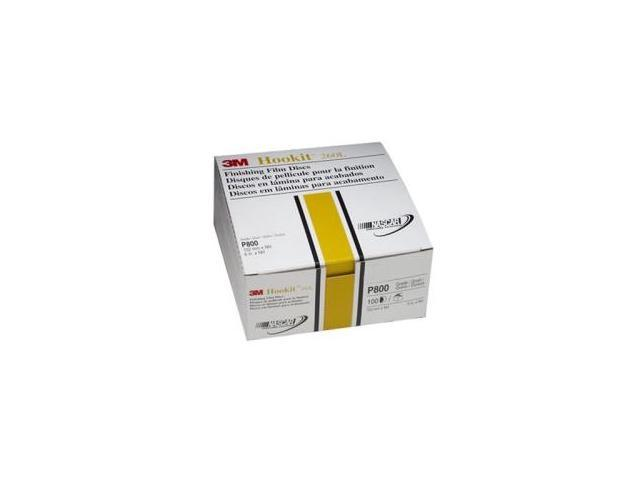 3M 979 6-inch Gold Film Discs HookIt P180 - 100-Pack