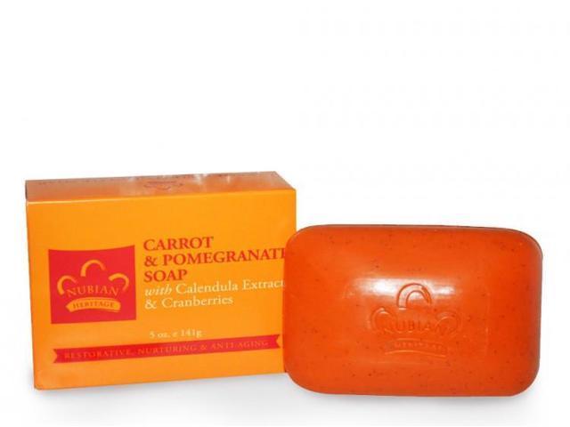 Carrot & Pomegranate Soap
