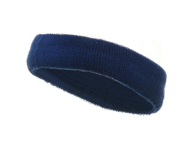 Head Bands (terry)-Royal (W15S25C)