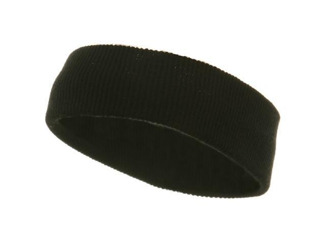 Head bands (wide)-Black (W12S25B)