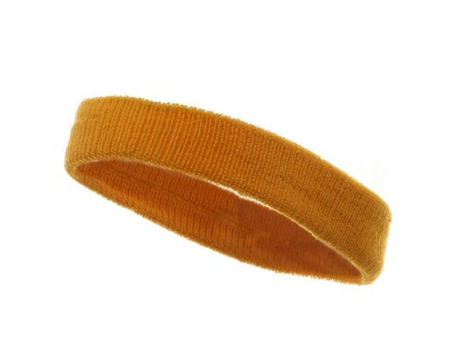 Head Band (terry)-Yellow (W15S25C)