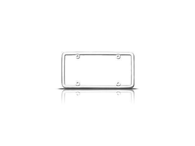 Cruiser Accessories Elite Stainless Steel License Plate Frame