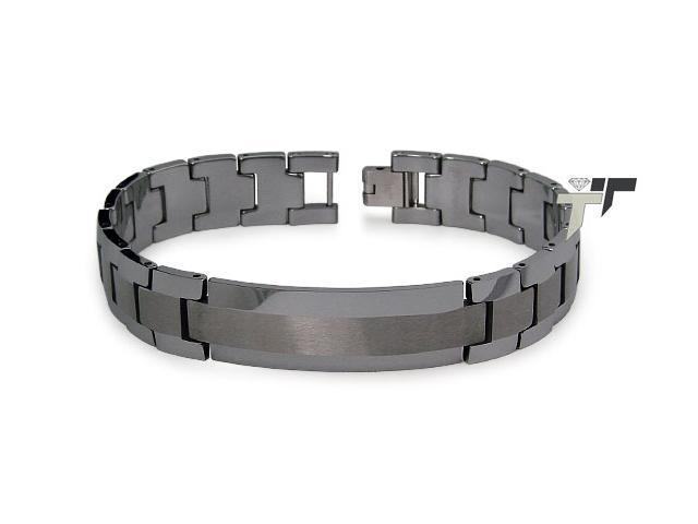 Tungsten Carbide ID Bracelet