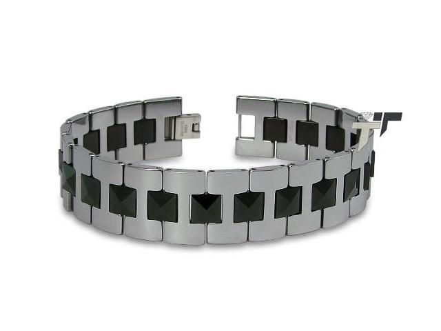 Tungsten Gladiator Men's Link Bracelet