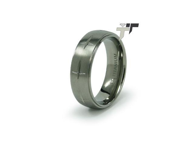 Titanium 7mm Men's Wedding Ring