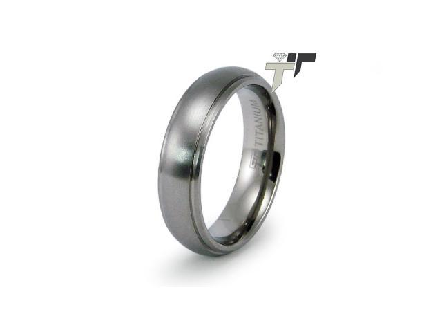 Titanium 6mm Wedding Band