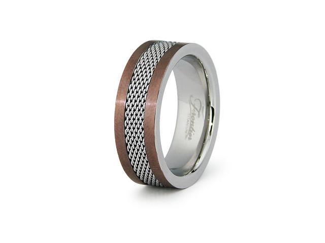 Stainless Steel Mesh Ring