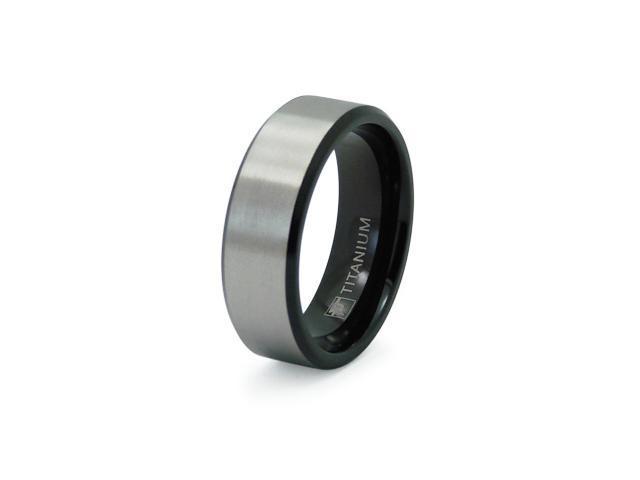 Black Titanium Ring