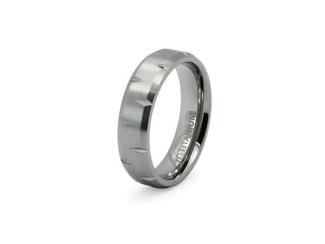 Titanium Beveled Edge Ring