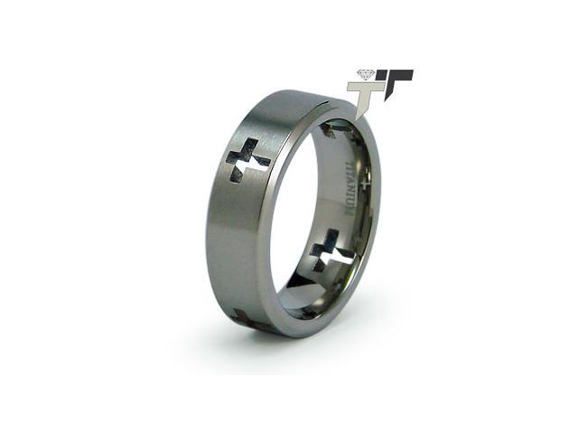 Inspirational Titanium Ring