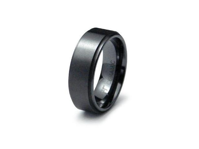 Ceramic Ring High Polish/Satin Finish