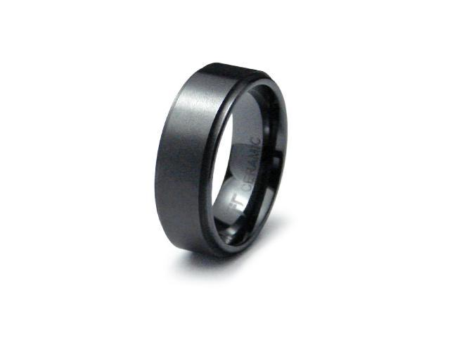 Ceramic Ring High Polish/Satin Finish