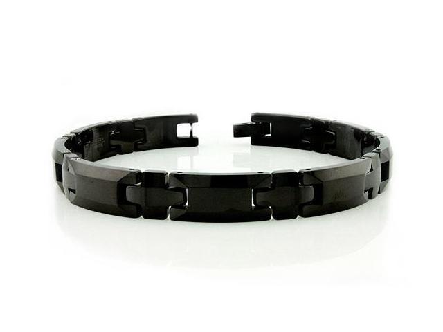 Black Tungsten Carbide Bracelet