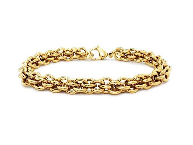 Gold Plated Stainless Steel Women's Bracelet