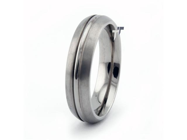 Titanium Wedding Band 6mm