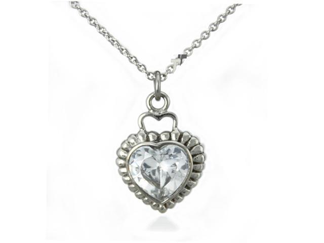 Stainless Steel Heart Pendant