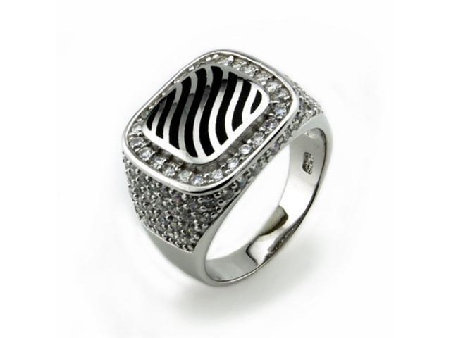 Sterling Silver Men's Ring