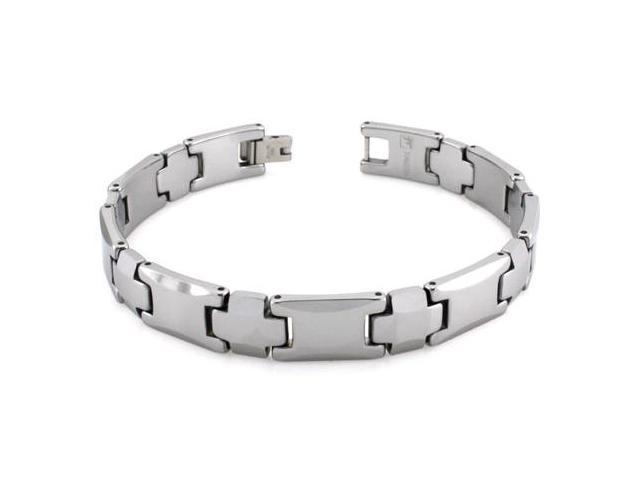 Tungsten Carbide Link Bracelet 8