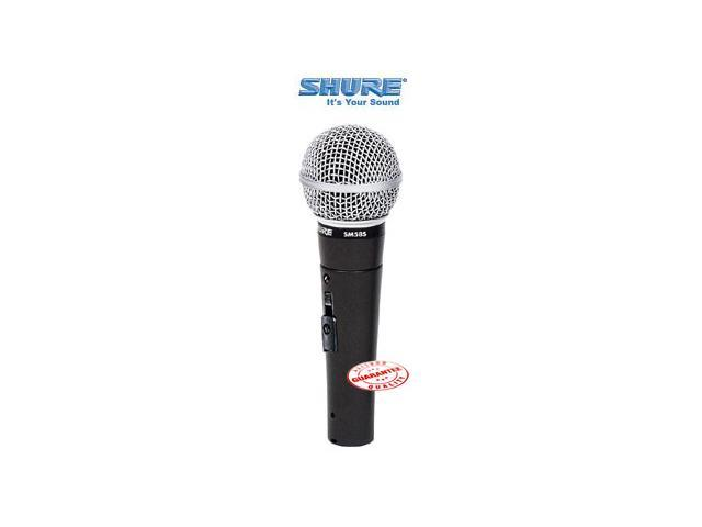 SHURE MICROPHONE WITH ON-OFF SWITCH SM58S-LC