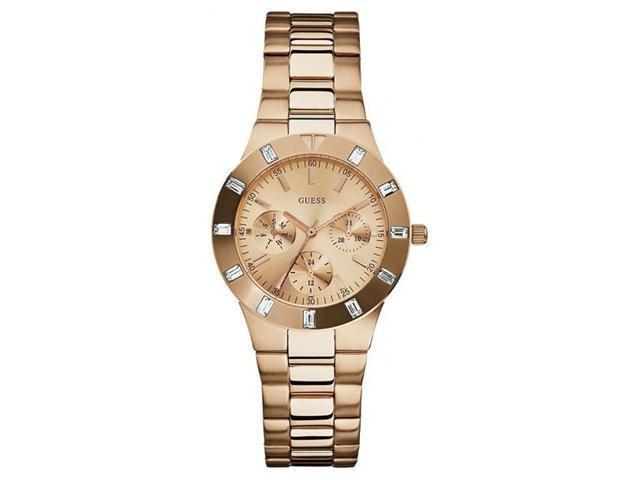 Guess U13013L1 Women's Rose Gold Tone Quartz Chronograph Watch