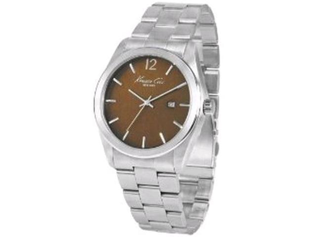 Kenneth Cole Stainless Steel Bracelet Black Dial Men's watch #KC3884