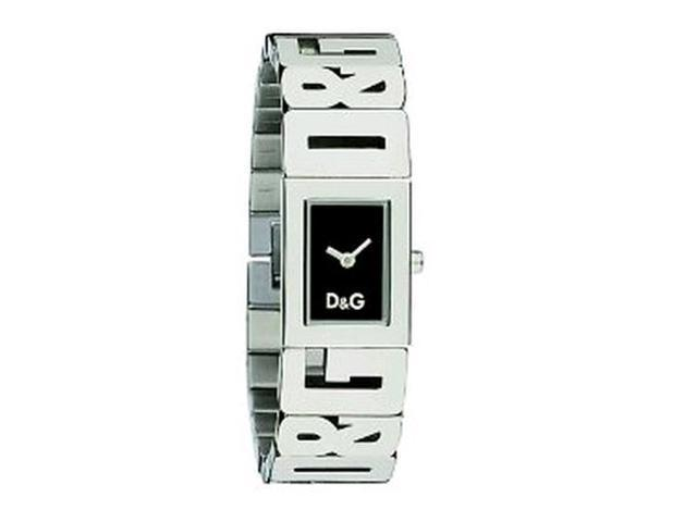 Dolce & Gabbana Women's Shout Black Dial Stainless Steel