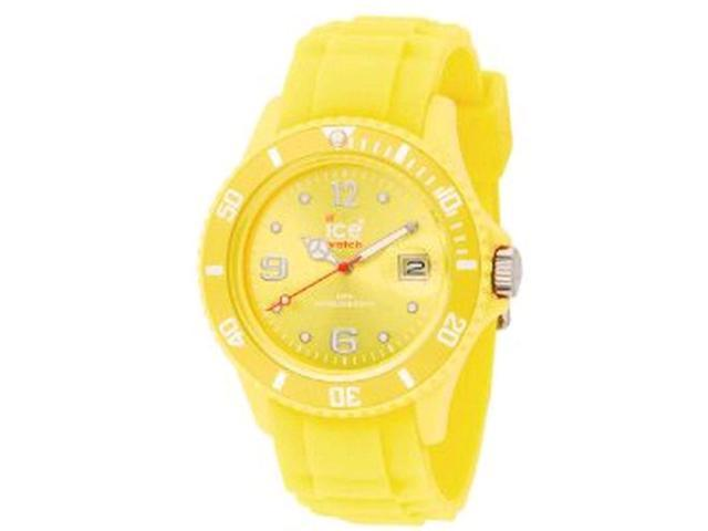 Ice-Watch Women's SILI SI.YW.U.S.09 Yellow Plastic Quartz Watch with Yellow Dial