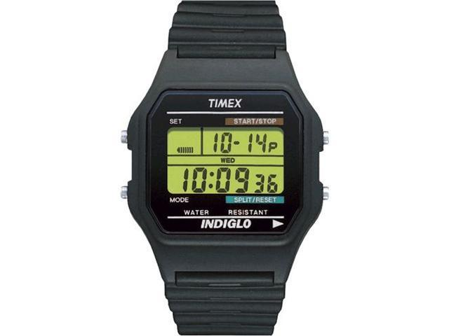 Timex T75961 Classic Digital Black Strap Watch