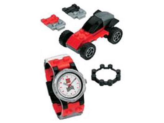 Lego Mini Classic Racer Black Dial Youth Watch #4271021