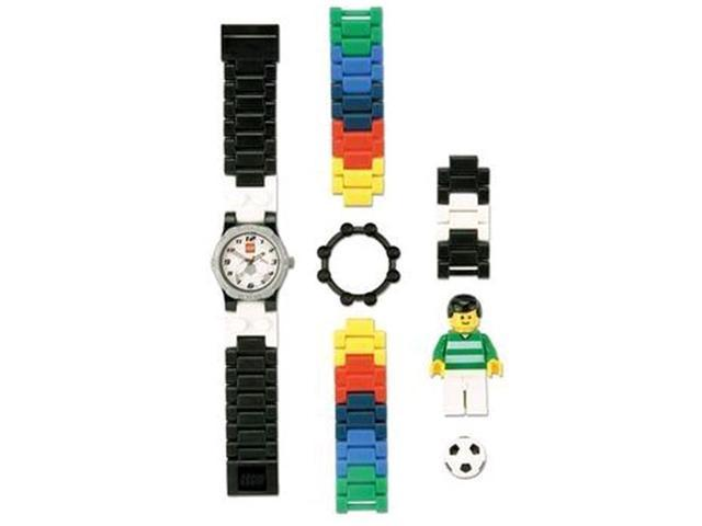 Lego Children's 4193356 Black Plastic Quartz Watch with White Dial