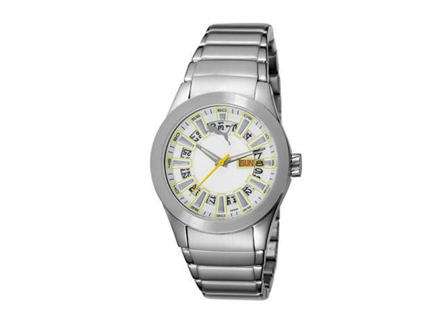 Puma Fan Day-and-date White Dial Women's watch #PU102402006