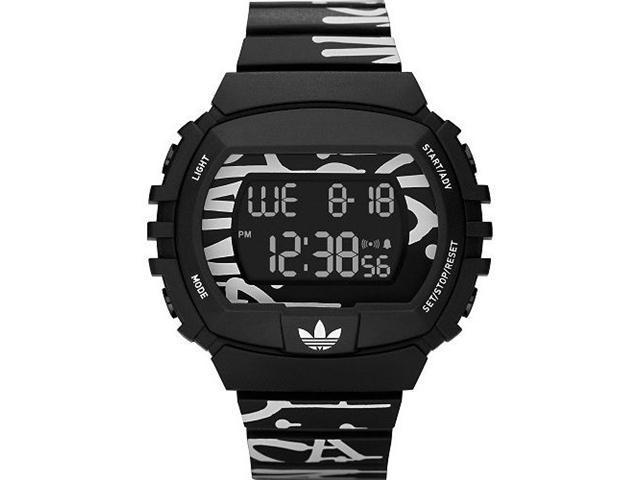 Adidas Originals NYC Graffiti Digital Black Dial Men's watch #ADH6131