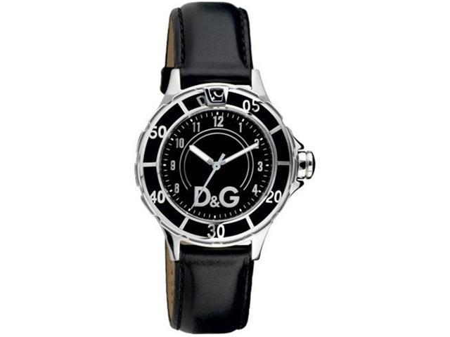 Dolce and Gabbana Anchor Black Dial Ladies Watch DW0509