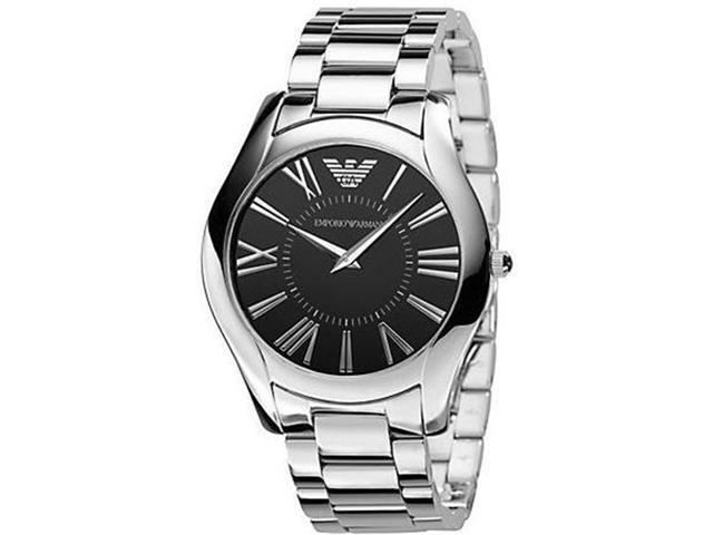 Emporio Armani Slim Stainless Steel Mens Watch AR2022