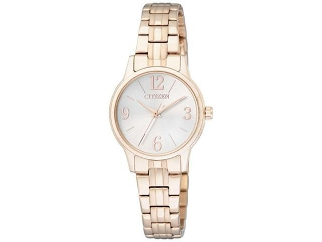 Citizen Women's EX0293-51A Gold Stainless-Steel Quartz Watch with Mother-Of-Pearl Dial