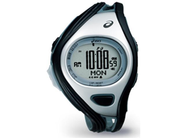 Asics CQAR0301 Unisex Challenge Silver Polyurethane Quartz Watch with Silver Dial