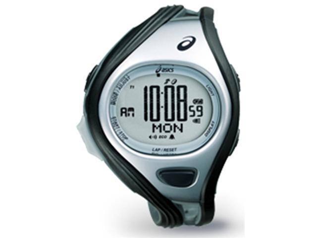 Asics CQAR0401 Unisex Challenge Grey Polyurethane Quartz Watch with Silver Dial