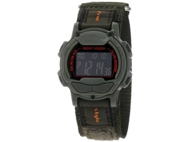 Freestyle Predator Green Nylon Digital Black Dial Men's watch #FS84997