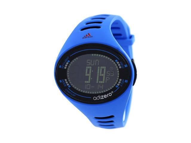 Adidas Men's Santiago ADP3511 Blue Polyurethane Quartz Watch with Black Dial