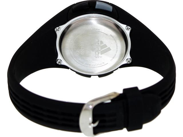 Adidas Women's Uraha ADP6061 Black Rubber Quartz Watch with Digital Dial