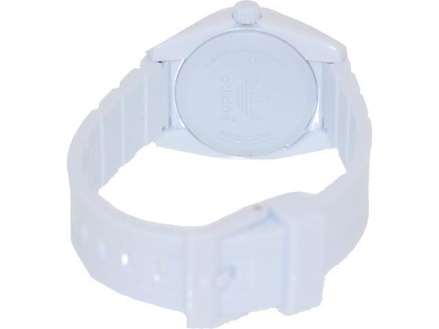 Adidas Women's Santiago ADH2777 White Plastic Quartz Watch with White Dial
