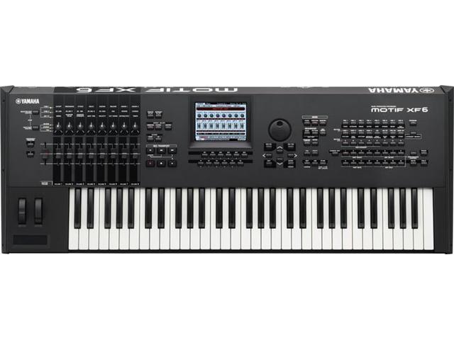 Yamaha MOTIF XF6 61 key Music Production Synthesizer