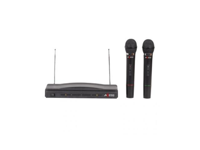 Dual Professional Handheld Wireless Microphone Wireless FM Receiver
