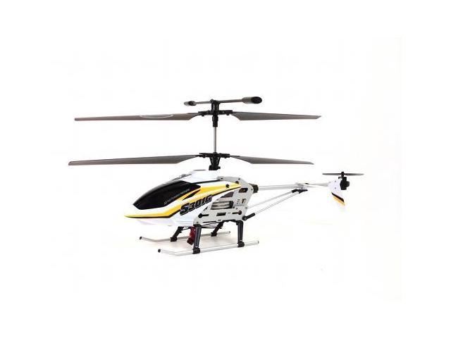 "Syma S301G 18"" 3CH Gyro RTF RC Helicopter w/ 27 mhz Transmitter (Yellow)"