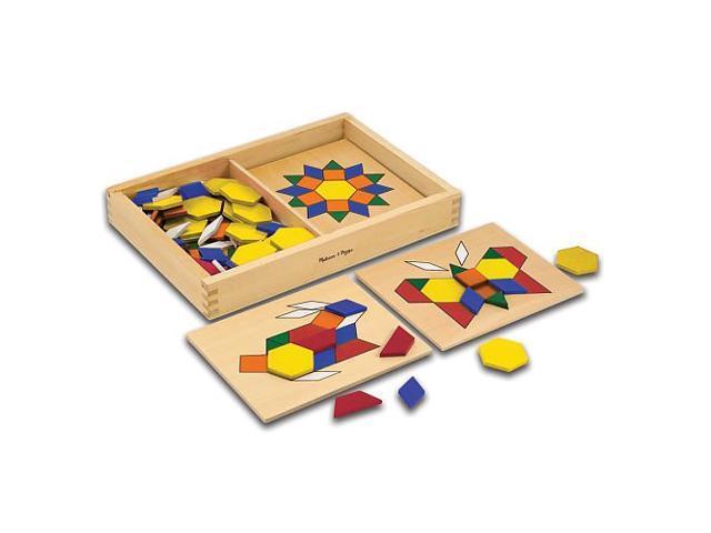 Melissa & Doug: Pattern Blocks & Boards